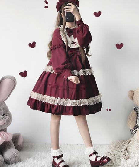 【d.Alice】クラシックワンピース