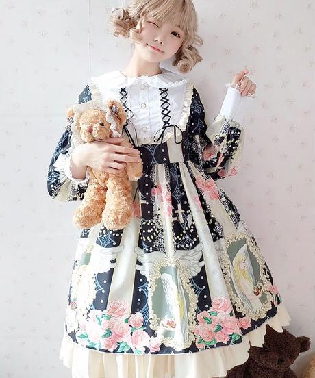 【d.Alice】エンジェルローズワンピース