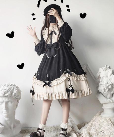 【d.Alice】十字架ワンピース