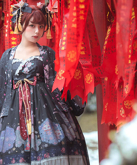 【d.Alice】SAKURAワンピース