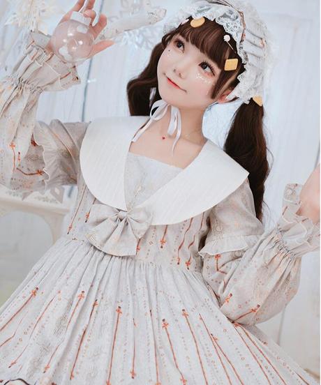 【d.Alice】オフホワイトフリル
