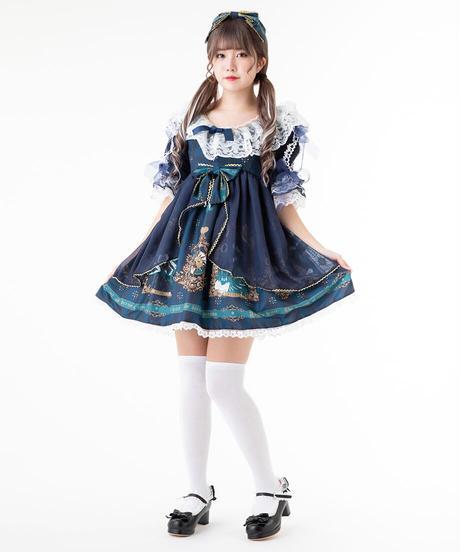 【d.Alice】トランプ柄ワンピース