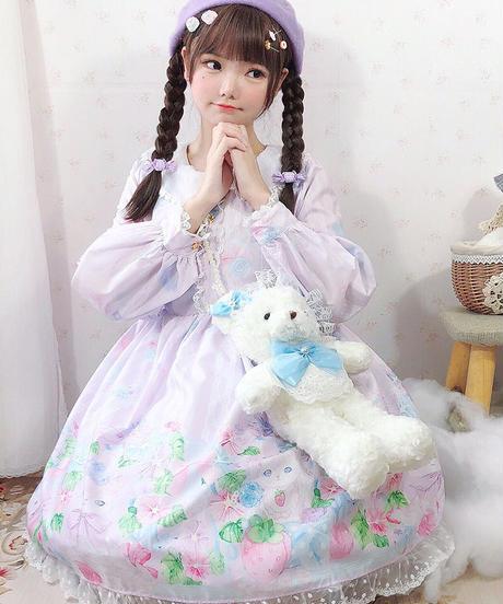 【d.Alice】ガーデンフローラルワンピース