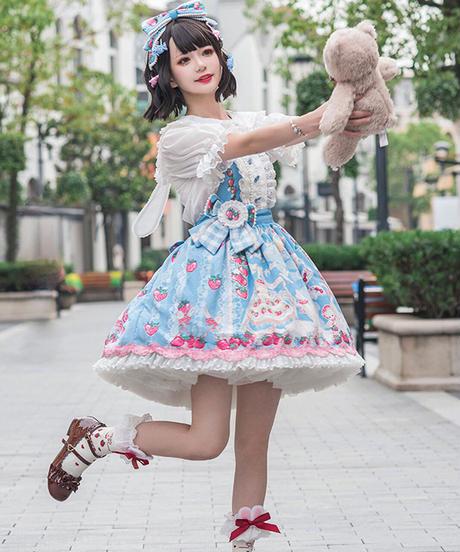 【d.Alice】ストロベリーキャットJSK