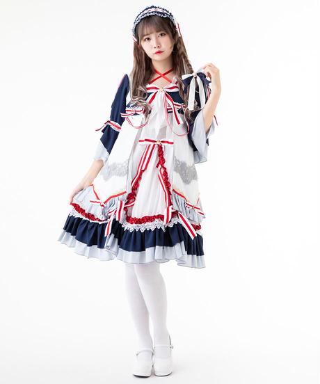 【d.Alice】メイドリボンワンピース