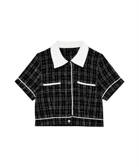 ツィードコンパクトシャツ AG212SH0611