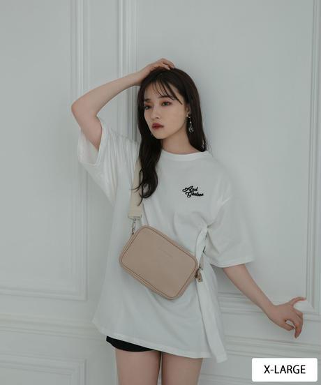 【UNISEX】ワンポイントロゴTシャツ AG212CS0527