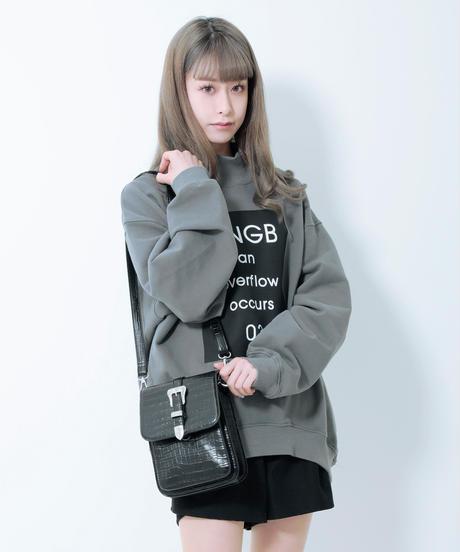 【UNISEX】ボックススウェット AG211CS0102