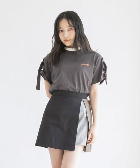 ベルトスリーブTシャツ AG202CS0422