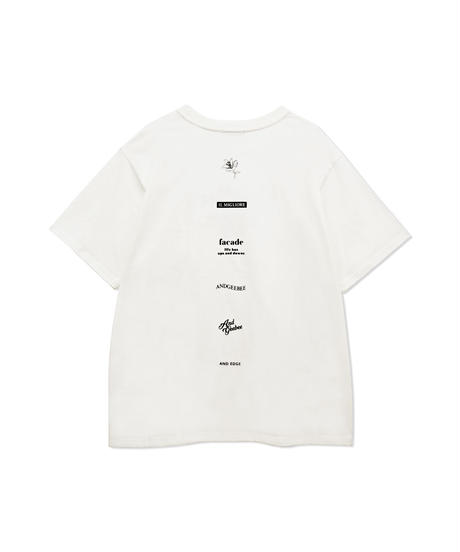 【UNISEX】レタリングTシャツ AG212CS0423