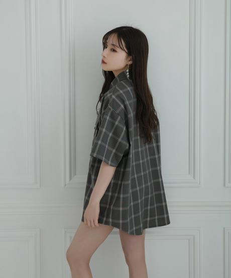 【UNISEX】スナップチェックシャツ AG212SH0409