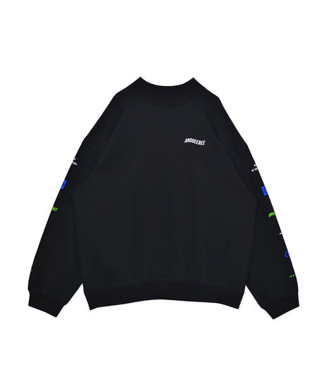 【UNISEX】スリーブロゴスウェット AG203CS0909