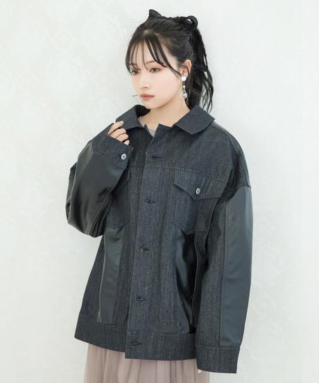 【UNISEX】ドッキングオーバーGジャン AG211JK0101