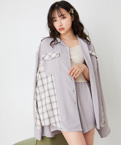 ハイショクチェックシャツセット AG201SH0306