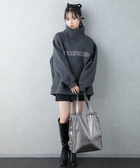 【UNISEX】フェイクレザートートバッグ AG203BC0905