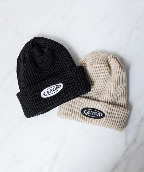 【UNISEX】ロゴワッペンニット帽 AG204BC1219