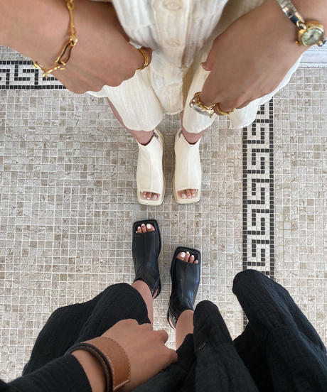 Square Platform Sandal