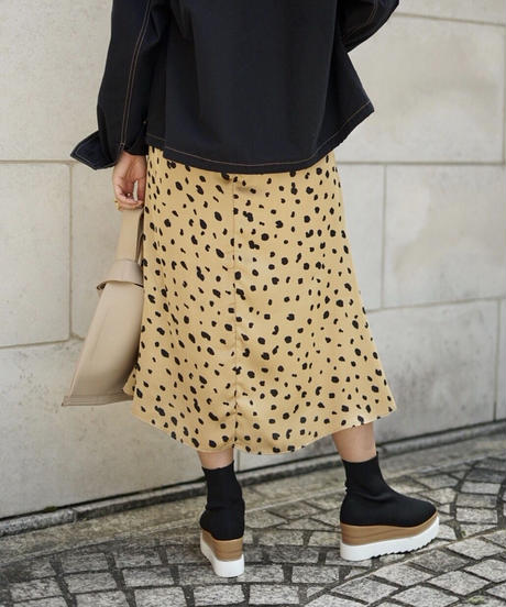 Color Dalmatian Skirt