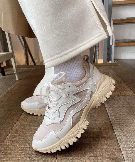 E/X Platform Sneakers