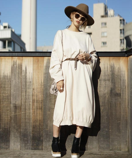 Volume Knit One-piece