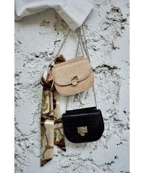 Croc Chain Bag