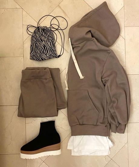 Layered Sweat Set Up