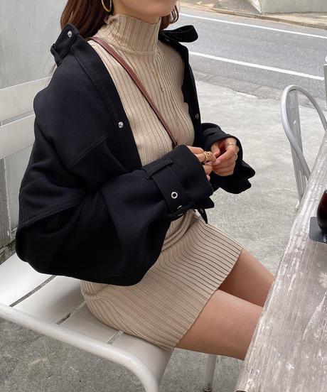 Volume Sleeve Coat