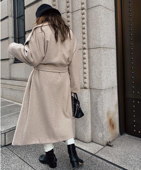 Big Collar Long Coat