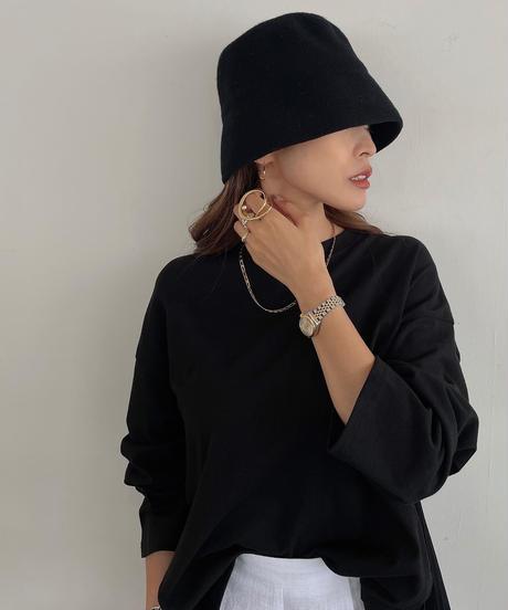 Wool Basic Bucket Hat