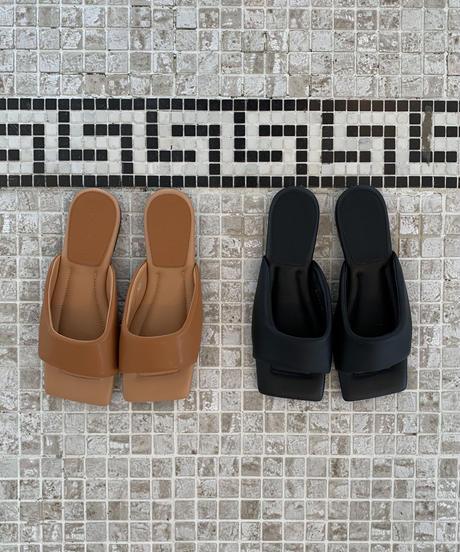 Flat Square Sandal