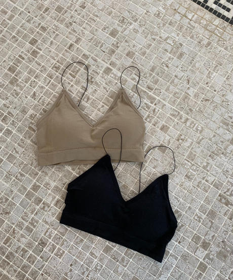 Narrow Strap Bra Top