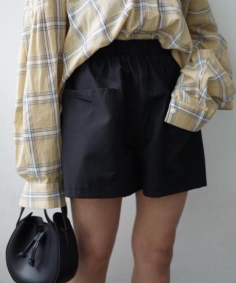 Side Pocket Short Pants