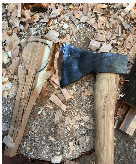 ワークショップ「斧とナイフで作るスプーン作り」