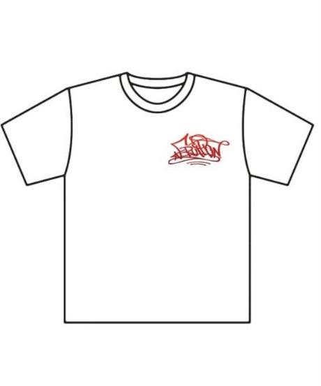ERUPTIONグラデーションTシャツ