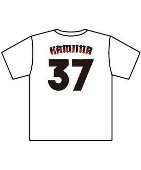37KAMIINAビッグシルエットTシャツ
