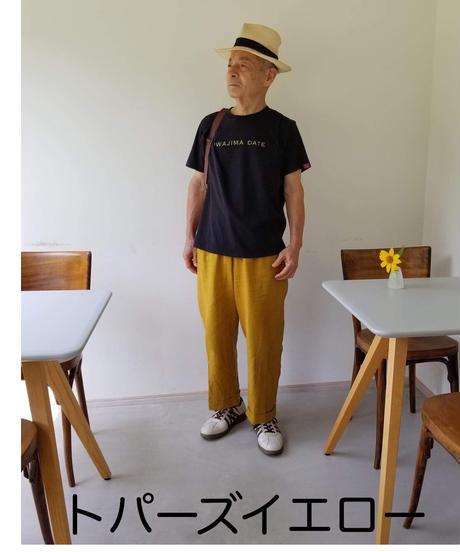 ボーイフレンドパンツ レギュラー丈 PBF-10-LNEM リネン Fサイズ UNISEX