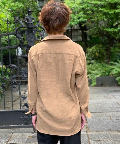 オープンカラーシャツ SOC-21-DG ダブルガーゼ UNISEX