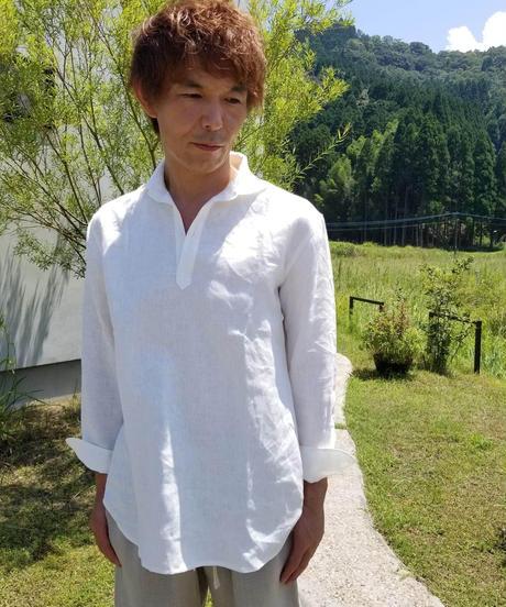 オープンカラーシャツ SOC-20-LN リネン UNISEX