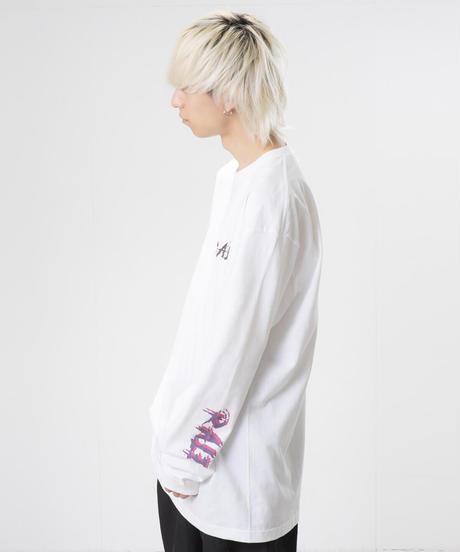 ロングスリーブTシャツ(WHT)