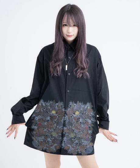 ロングシャツジャケット