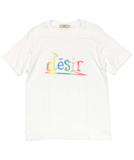 「desir Rainbow Logo」Tee