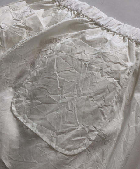 100/2 Poplin Relax Pants  / White