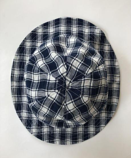 Linen Check Hat