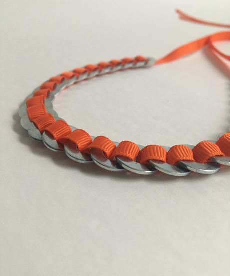 ANNI ALBERS NECKLACE  #4 INSTRUCTIONS