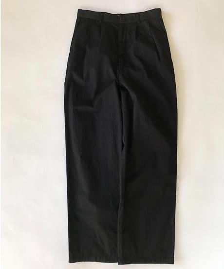Karsey 2tuck Pants / Black