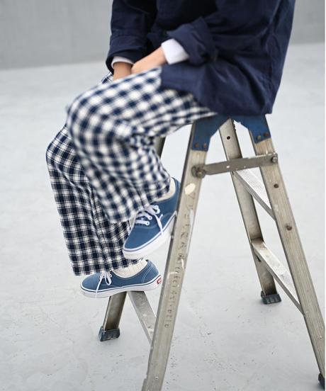 Linen Check RAF Pants