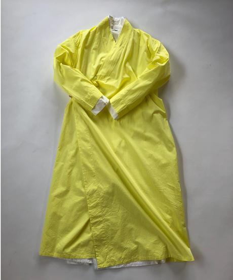 100/2 Poplin Cachecoeur Onepiece  / Yellow