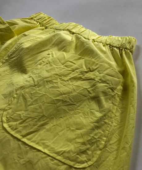 100/2 Poplin Relax Pants  / Yellow
