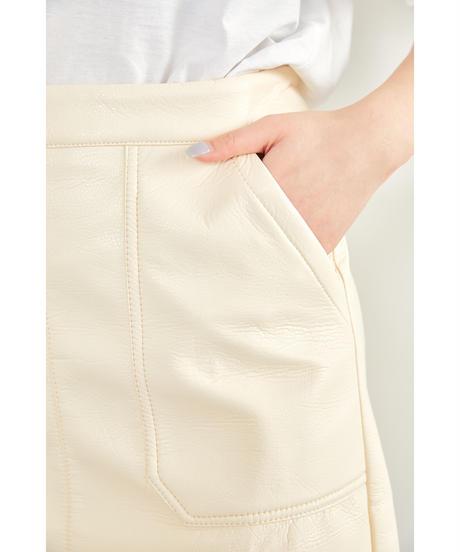 ポケットレザースカート