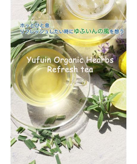 Yufuin Organic Hearbs  Refresh Tea           【 オーガニックハーブ リフレッシュティ】6ティーパック